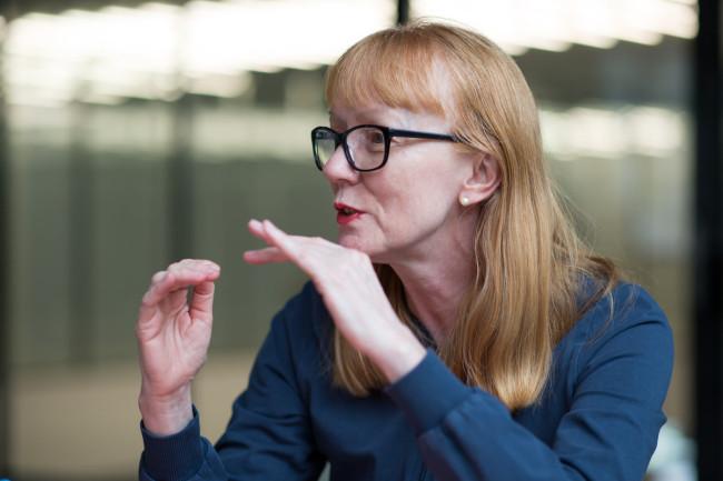 Steffi Scherzer über ihr Leben als Tänzerin Foto: Mike Flam