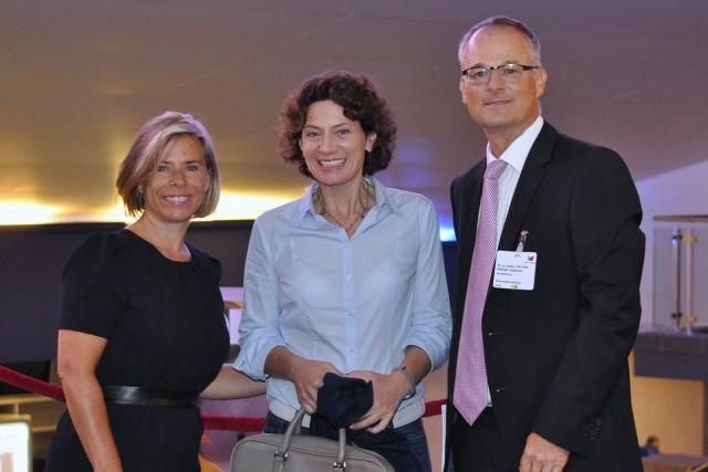 Doris Brandenberger, Organisatorin Medicongress Zürich, Frau Prof. Dr. Andrea Belliger, Dr. Michael Hartschen #Brainconsulting