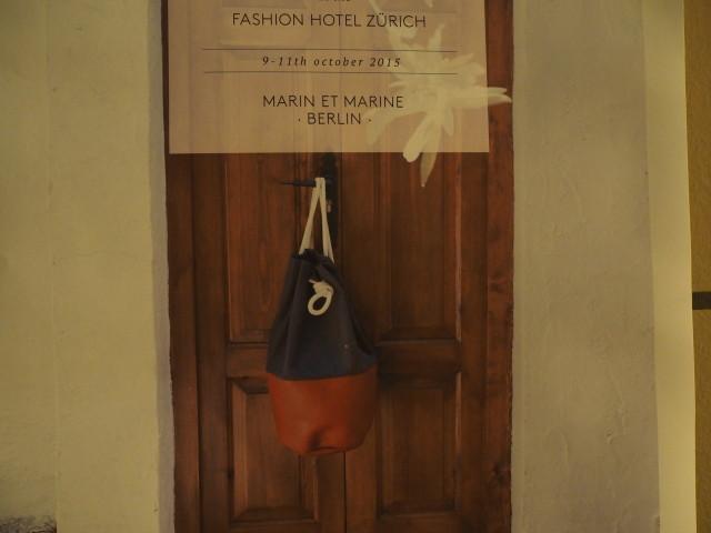Marin et Marine Rucksäcke aus Berlin im Fashionhotel Zürich - Notalgie pur!