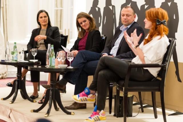 Im Gespräch - Barbara Beckenbauer, Yvonne Zurbrügg, Daniel Regli, Kafi Freitag