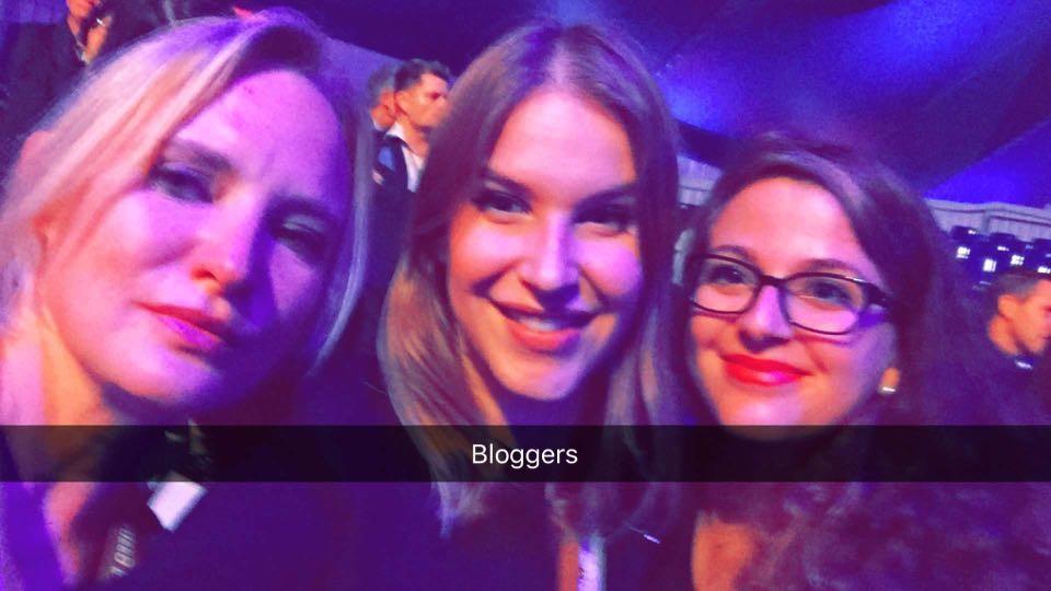 Blogger unter sich am Swiss Gastro Award.