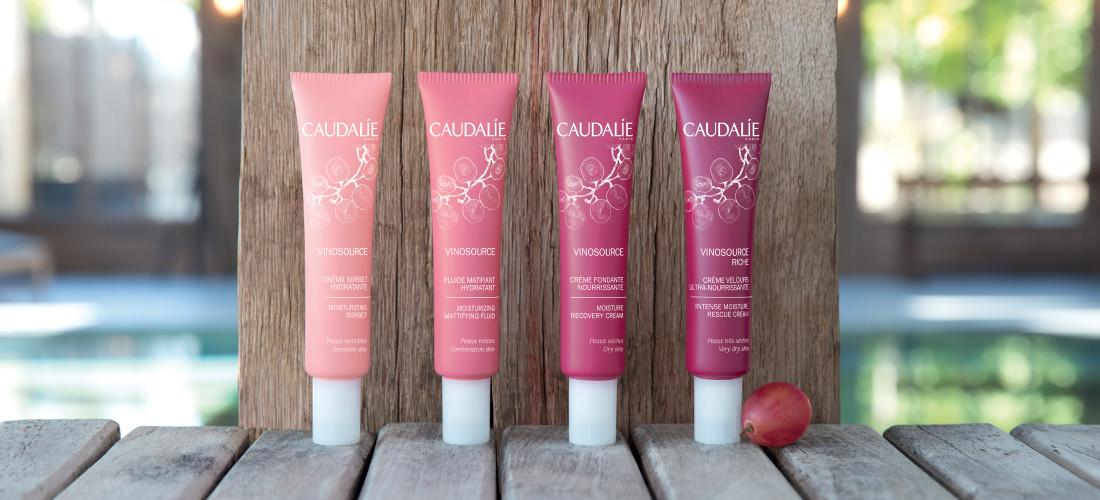Life is better in pink - Caudalie Vinosource Serie