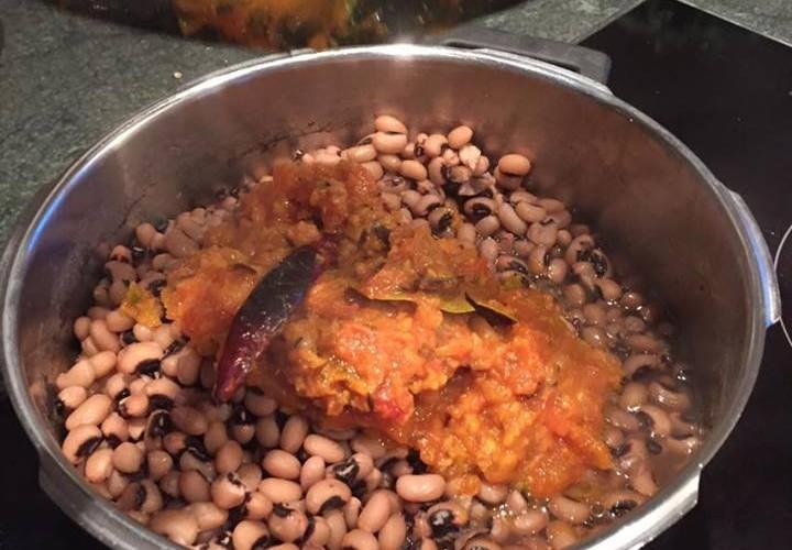 Lobia Curry - Curry mit weissen Bohnen