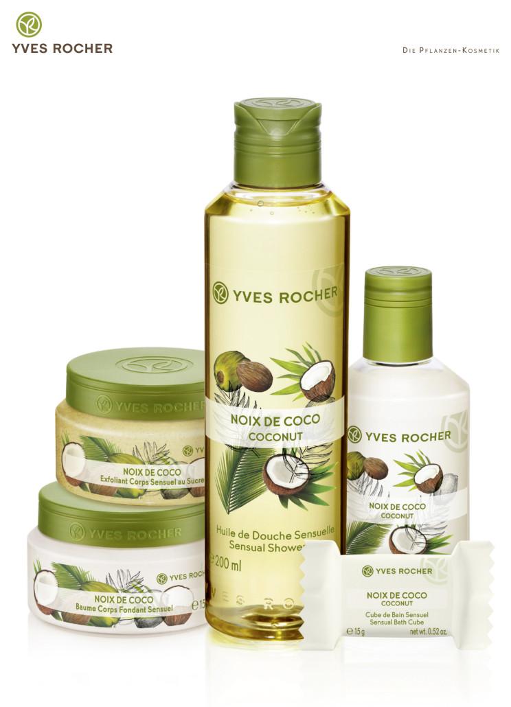Produktmix Noix de Cocos - 100 % natürlich, Yves Rocher