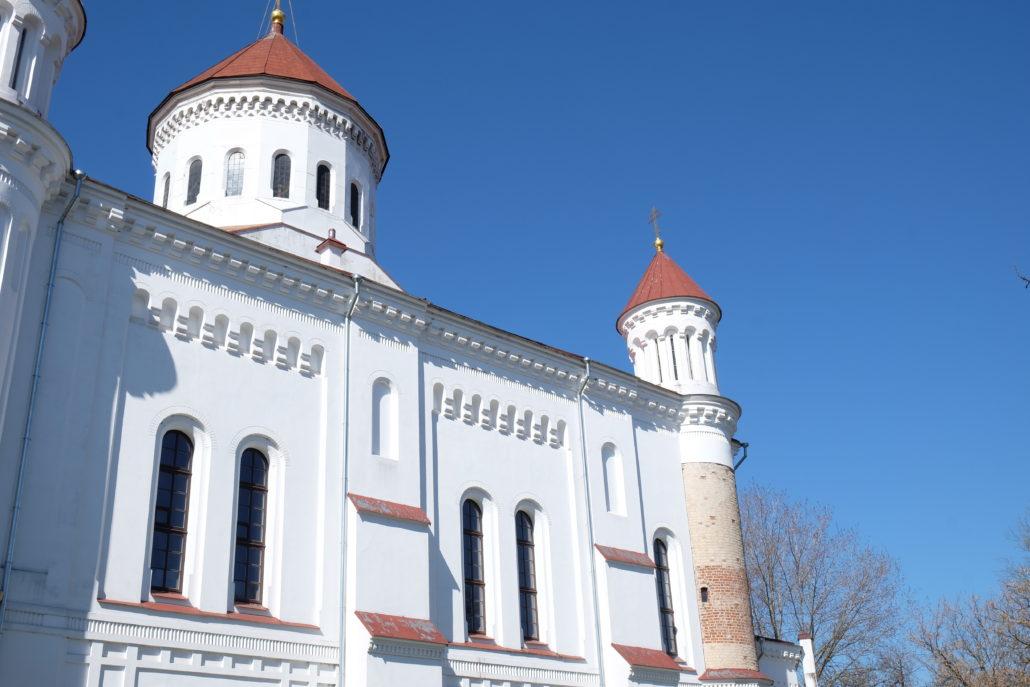 Die Kathedrale der Himmelfahrt der Gottesmutter in Vilnius.