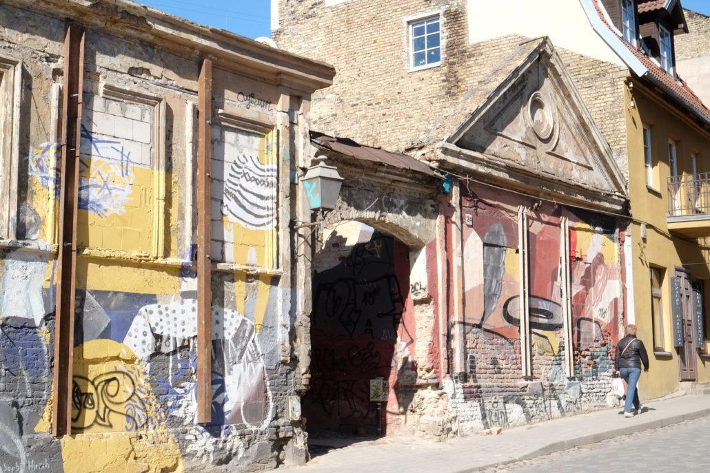 Viele Quartiere in Vilnius erleben einen Aufschwung.