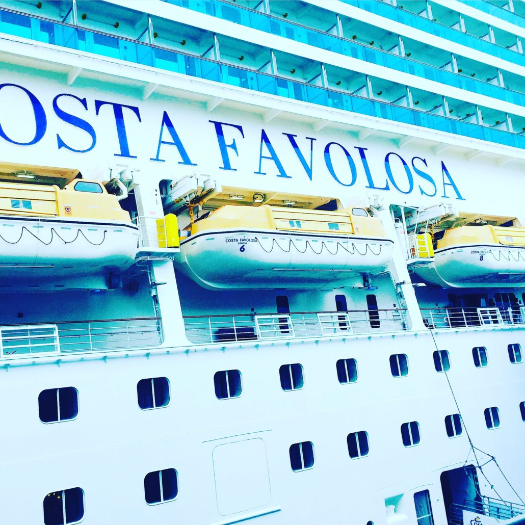 Costa Favolosa - ein Gigant mit allem was man sich erträumt.