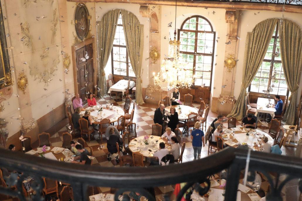 Wie im Märchen - Frühstückssaal Schloss Leopoldskron. Foto: Giovanoli