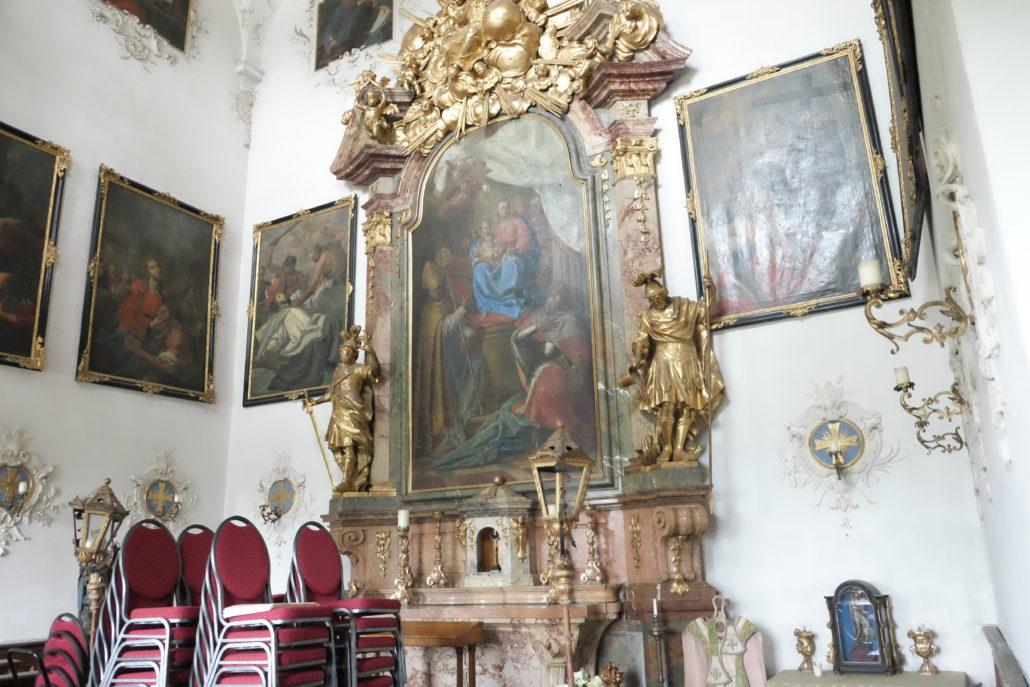Die Schlosskapelle Leopoldskron.