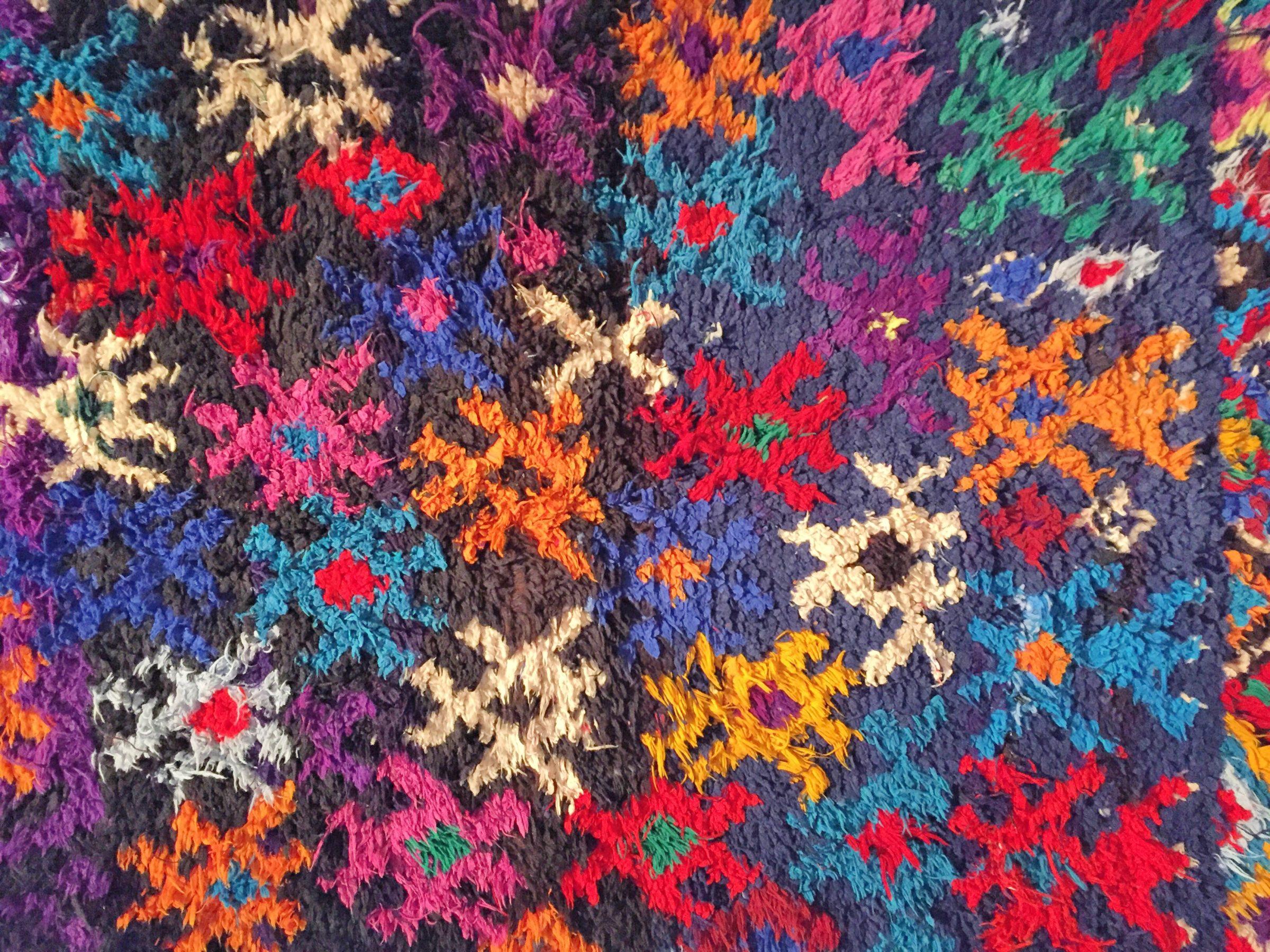 Farbige Wüste - Teppichkunst aus Marokko - Bestyears