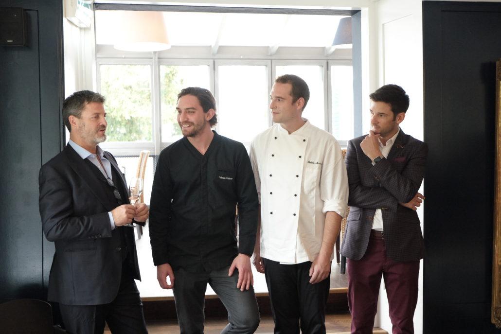 Die neue Crew im See rRstaurant Steinburg, Küsnacht Zürich