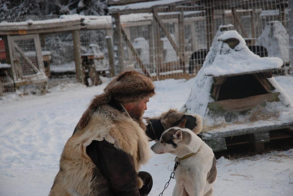 Mensch, Tier und Natur. Zu Besuch auf der Hushkie Farm.