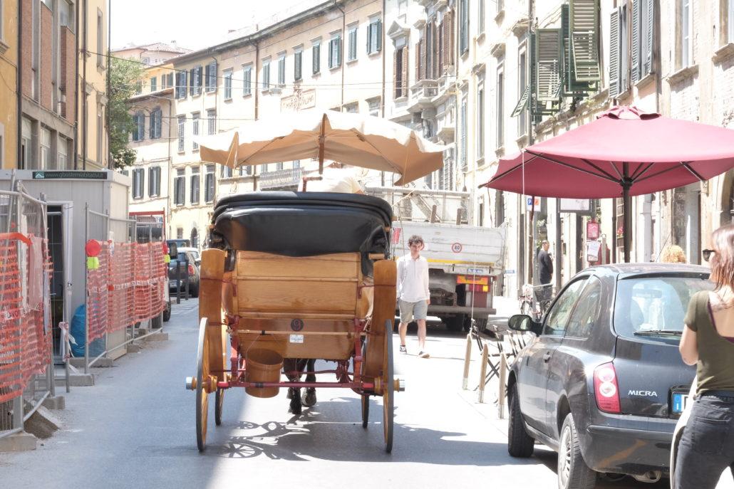 Pisa - ursprünglich und echt abseits des Schiefen Turmes. Foto: Elisabeth Giovanoli