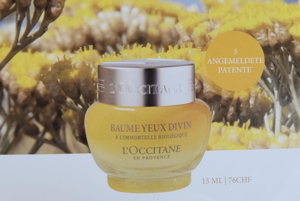 Divine Augenbalsam von LOccitane mit Bio Imortelle aus Korsika