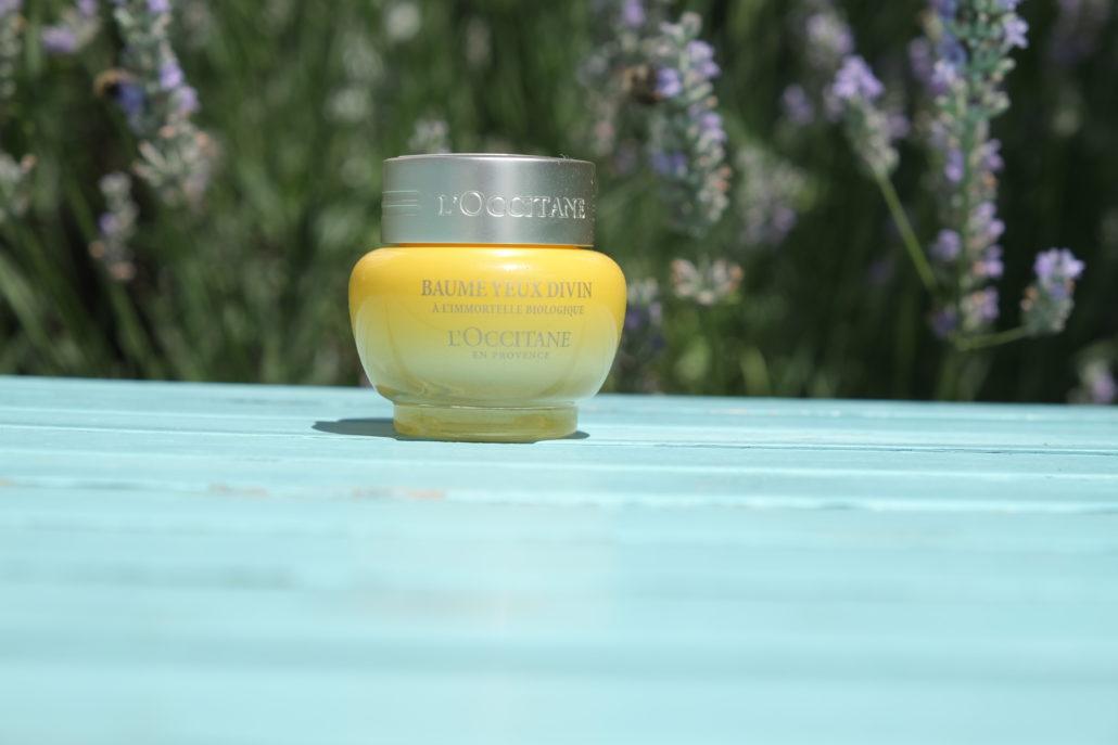 Divine Augenbalsam von L'Occitane en Provence. Kann als Augencreme oder Maske verwendet werden.