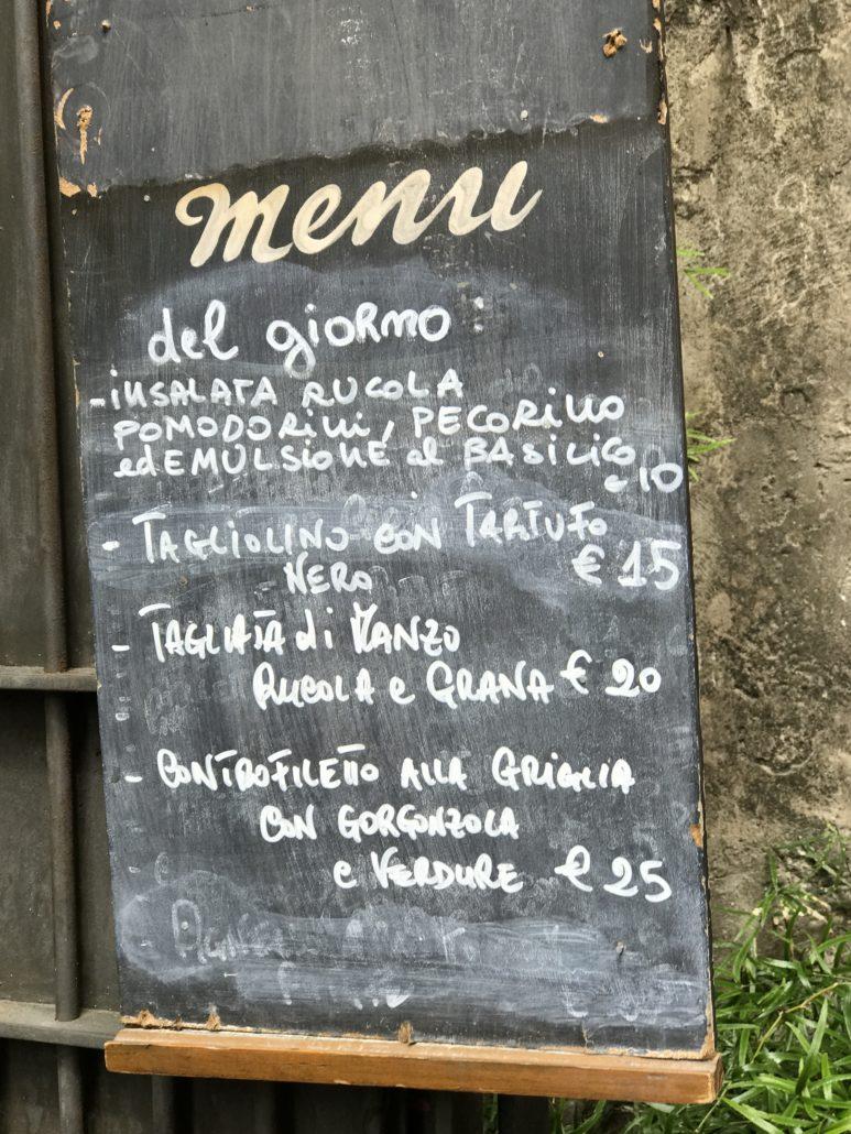 Pisa - Pisa - weltberühmt und beliebt, die Toskanische Küche.