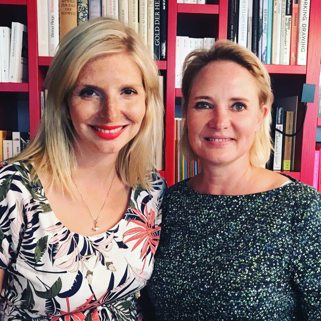 Lea-Sopie Cramer von Amorelie zu Besuch in Zürich um ihren aktuellen Adventskalender vorzustellen -
