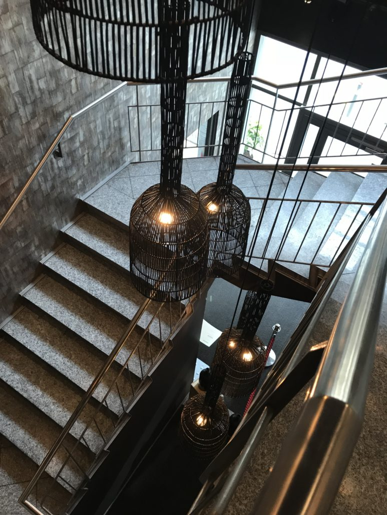 Treppe ins Paradies - Restaurant 20/20 in Zürich